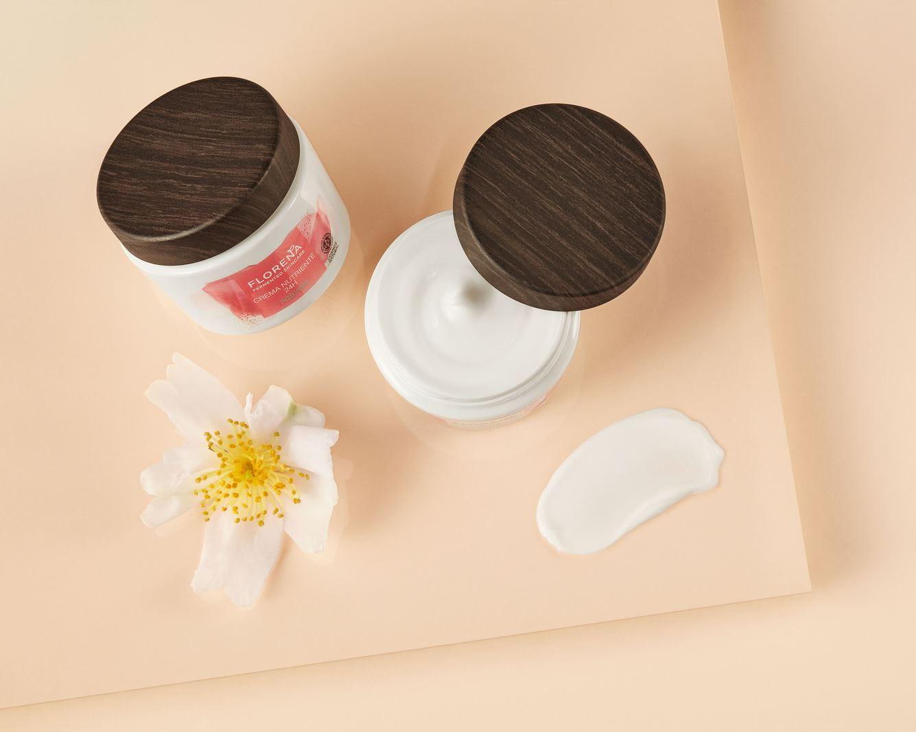 florena fermented moisturiser