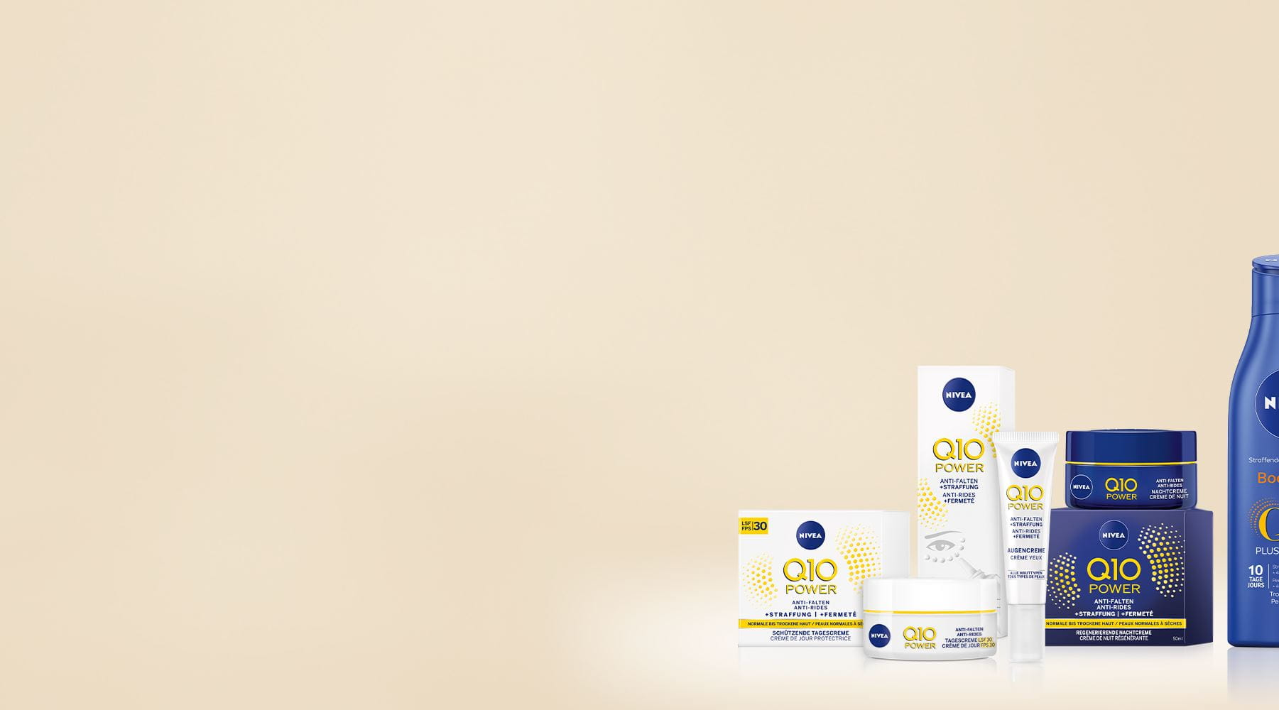 Q10 Power Body and Face Products