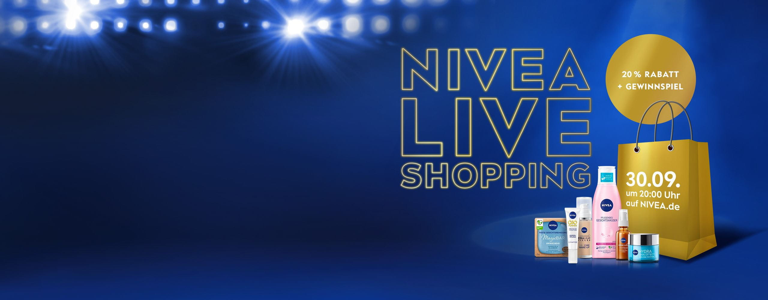 NIVEA Live Shopping – Go with the glow
