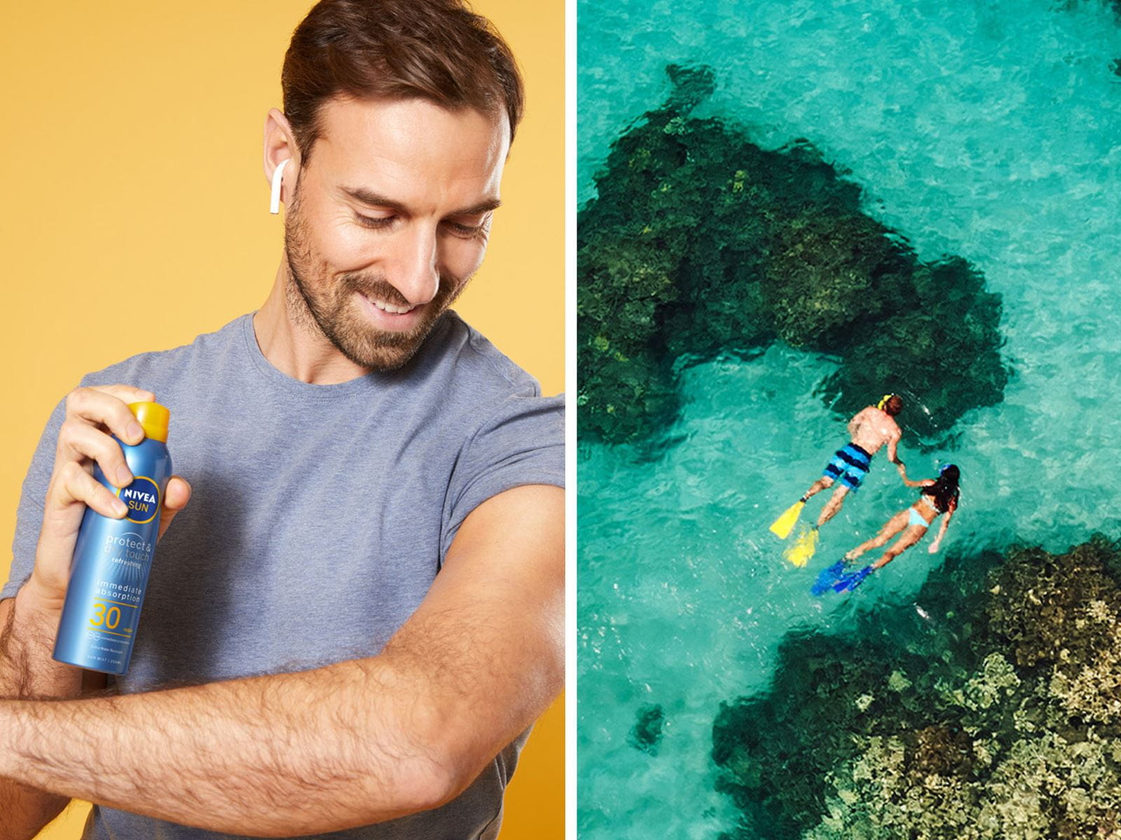 water-proof sunscreen