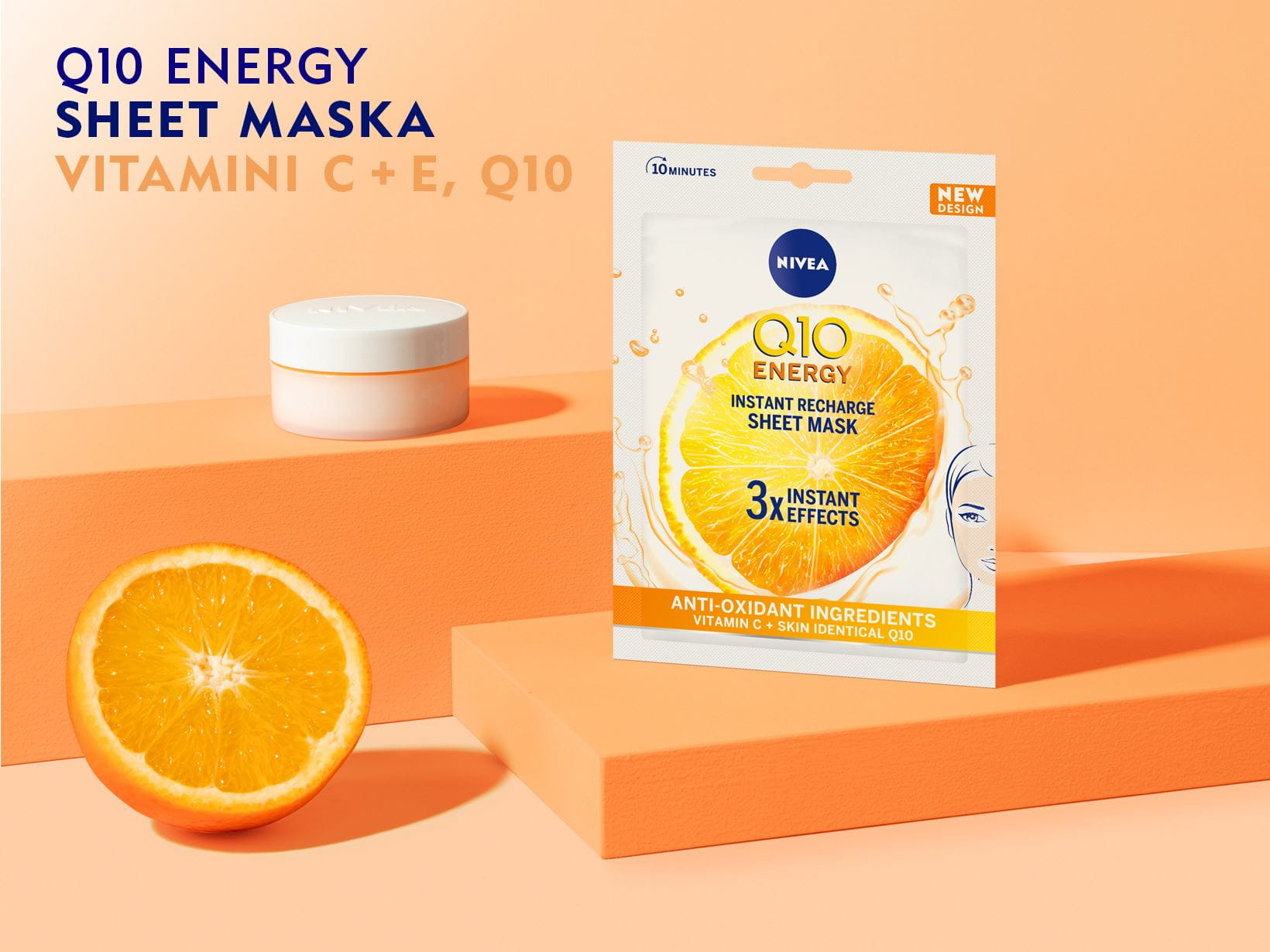 Q10 Energy Instant Recharge Sheet Mask
